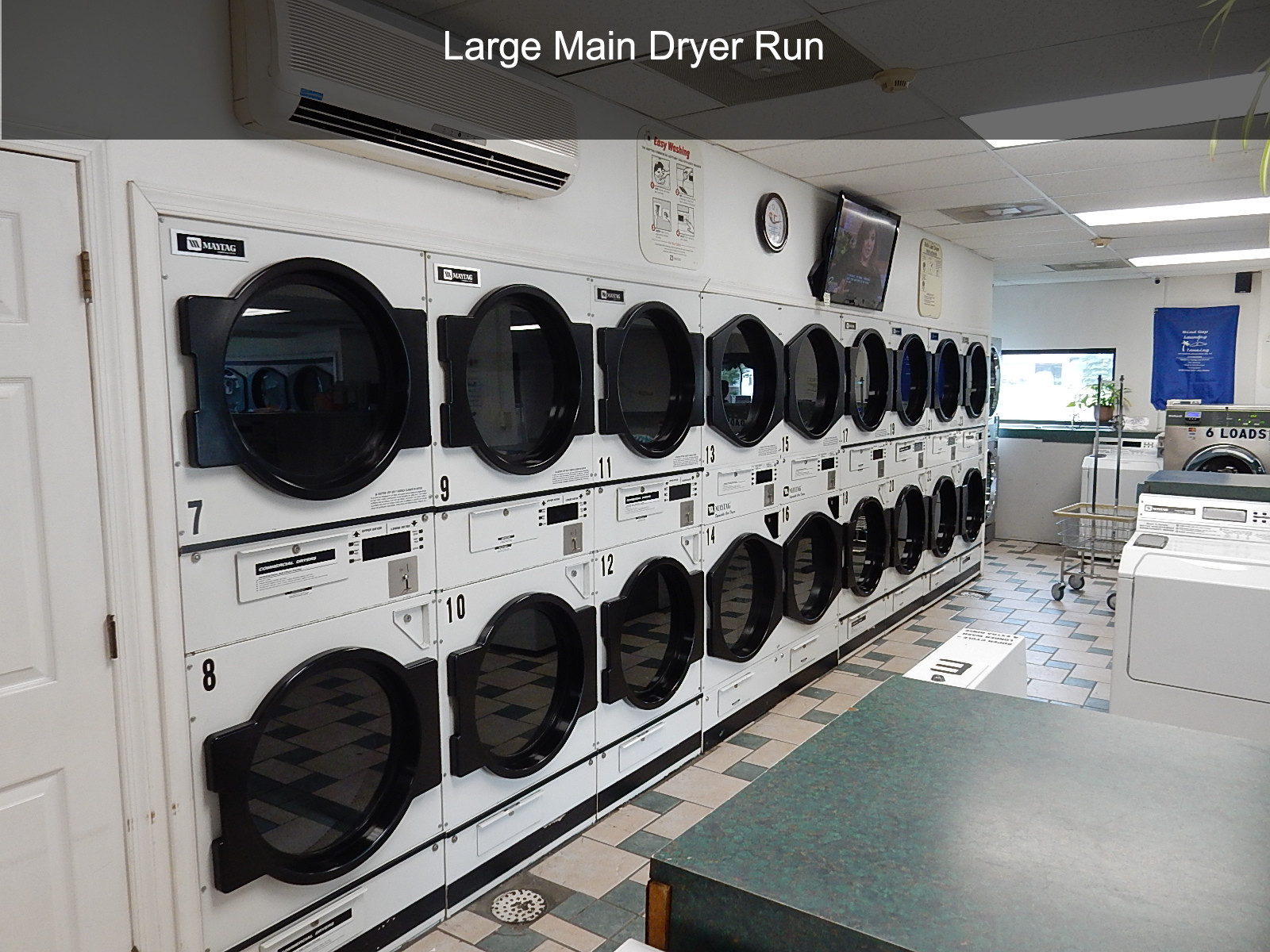 Large Main Dryer Run