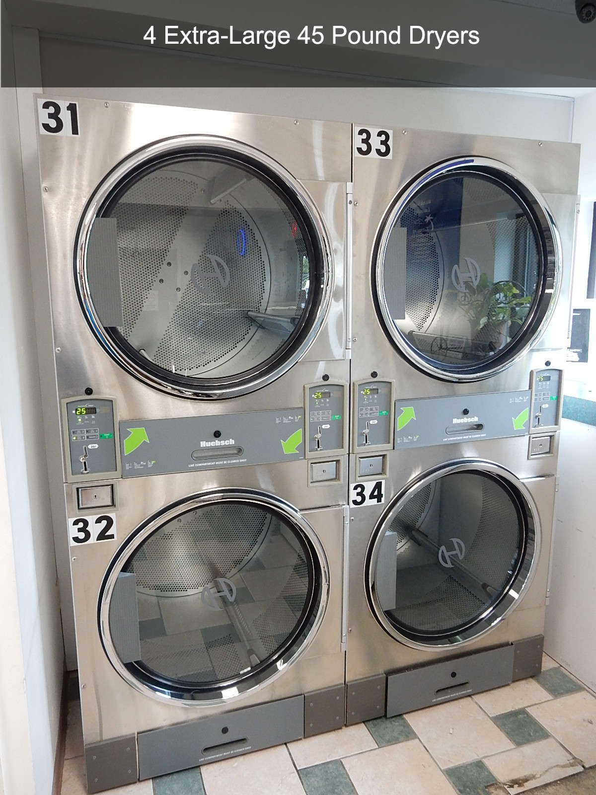 4 Extra-large 45 Pound Dryers